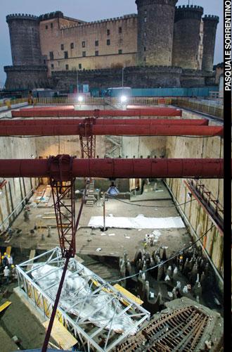 Naples Underground Buried Ships